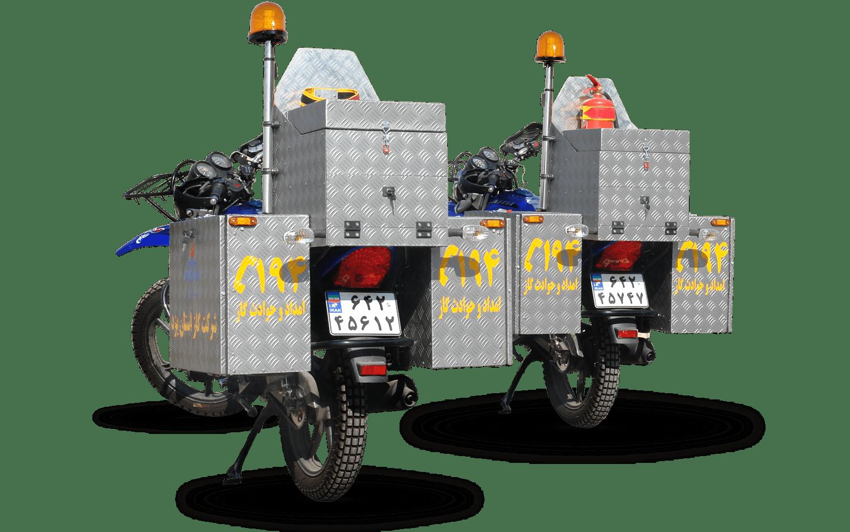 موتورهای سیکلت های پیشرو آتش مهاران
