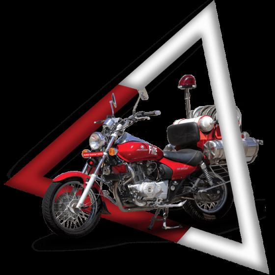 موتور سیکلت های پیشرو | ماشین های آتش نشانی |آتش مهاران نوین آریا