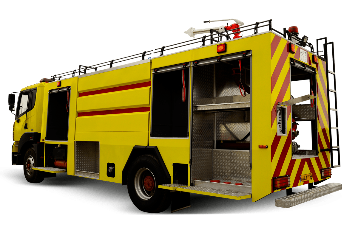ماشین سنگین آتش نشانی | ماشین آتش نشانی آتش مهاران نوین آریا