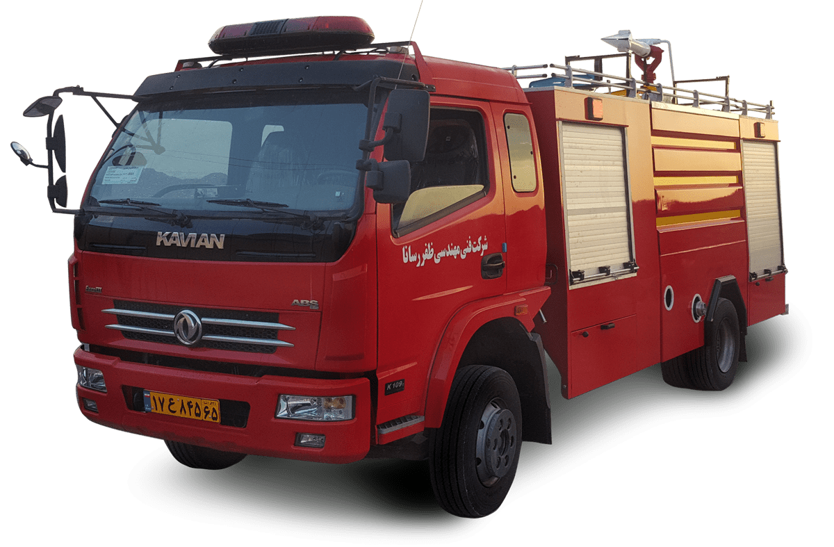 ماشین نیمه سنگین آتش نشانی | ماشین آتش نشانی آتش مهاران نوین آریا