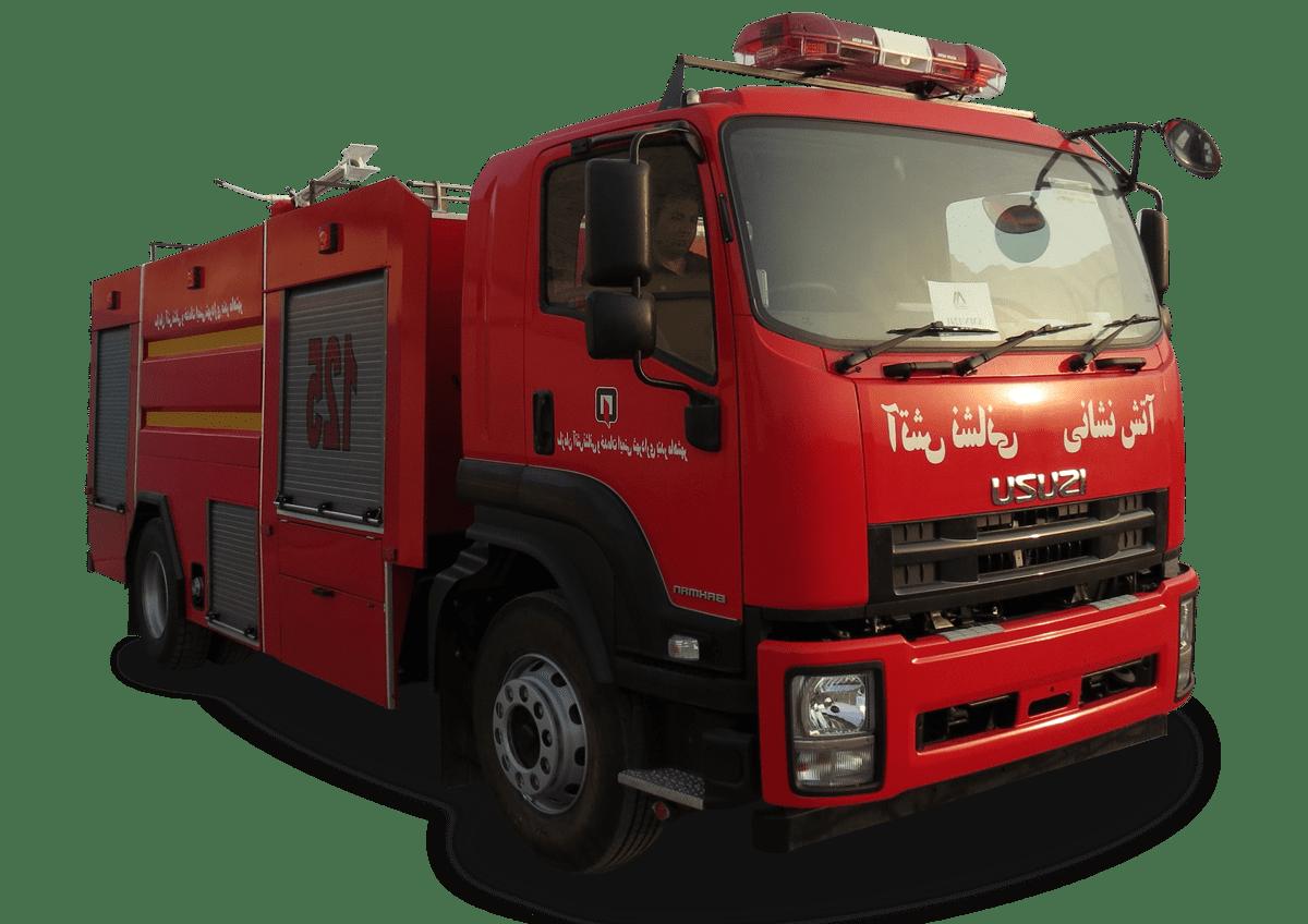 ماشین آتش نشانی ایسوزو | آتش مهاران نوین آریا