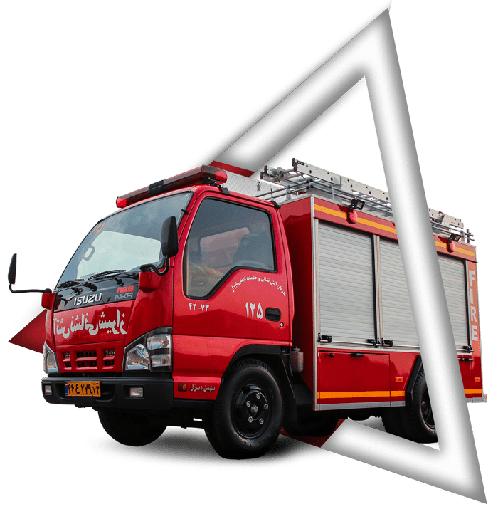 ماشین آتش نشانی نیمه سنگین | ماشین آتش نشانی آتش مهاران نوین آریا