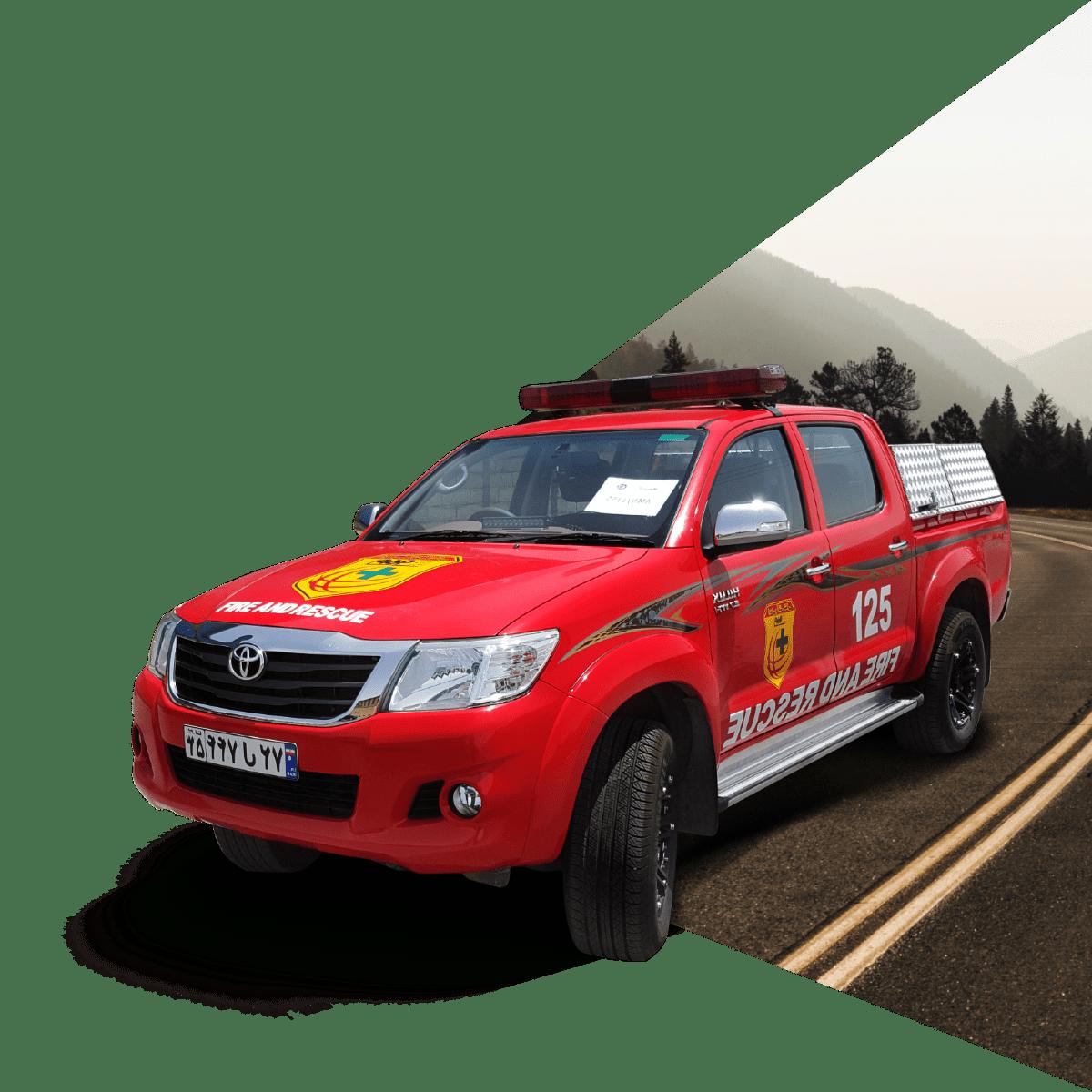 ماشین های آتش نشانی امداد و نجات | آتش مهاران نوین آریا