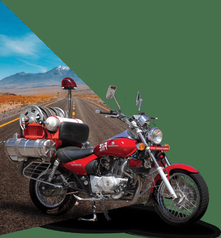 موتور سیکلت های پیشرو آتش نشانی | آتش مهاران نوین آریا