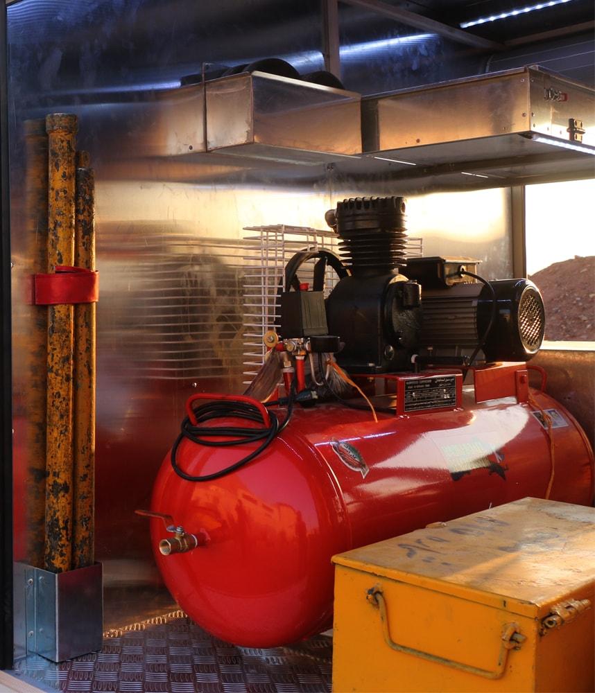 ماشین نیمه سنگین آتش مهاران | ماشین آتش نشانی