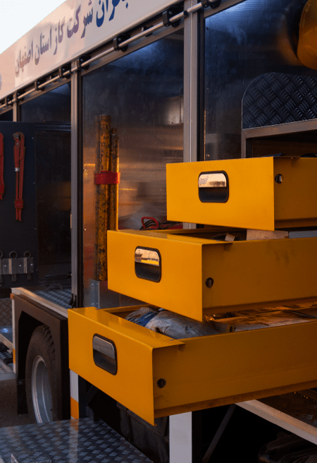 ماشین های آتش نشانی امداد و نجات | ماشین آتش نشانی نیمه سنگین آتش مهاران