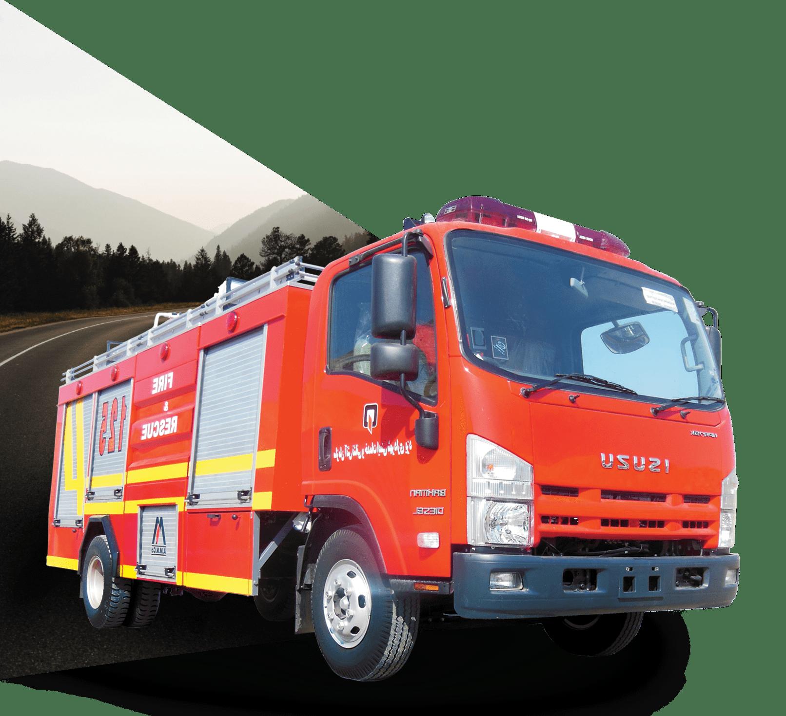 ماشین نیمه سنگین آتش نشانی | آتش مهاران نوین آریا